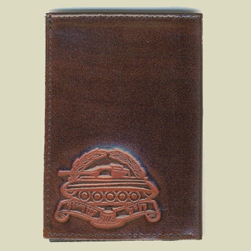 Armored Corps Leather Wallet (W-12)