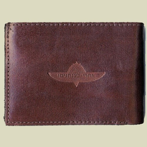 IDF Jump Wings Leather Wallet (W-3)