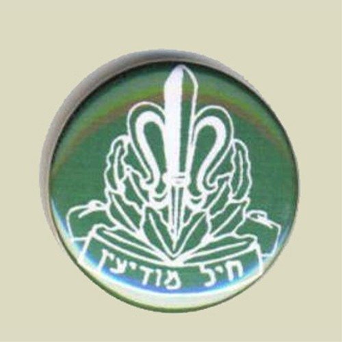 Israel IDF Army intelligence corps Metal Pin Tag (sika-2)
