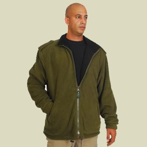 IDF Fleece Coat - Double side Black Green (406601)