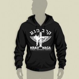 Krav Maga Hooded Sweatshirt (HS-24)