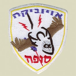 Israel Air Force Squadron Patch (IAF-D5)