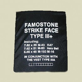 Famostone Plate - Ultra Light - Level 3+ (plate-3+)