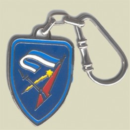 7th Armored Brigade Key Chain (KC-106)