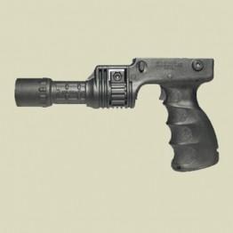 Agronomic flashlight grip (T-GRIP)