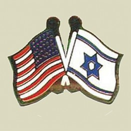 Israel-Us Flags Insignia (13-30)
