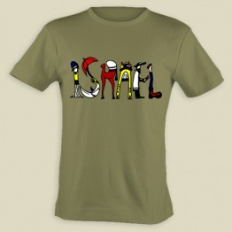 Israel Cartoon- T-shirt (KT-36)