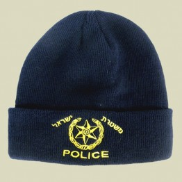 Mishteret Yisrael - Israel Police - Knitted Winter Watch Cap (WW-21)