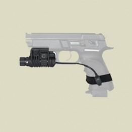Flashlight Picatiny Rail Adaptor -1 inch (pla-1)