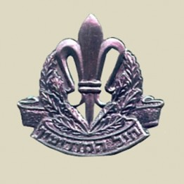 IDF Intelligence beret insignia-Old (1-10)