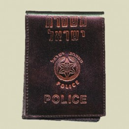 Police Leather Wallet (W-1)