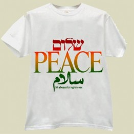 The PEACE T-shirt (T-34)