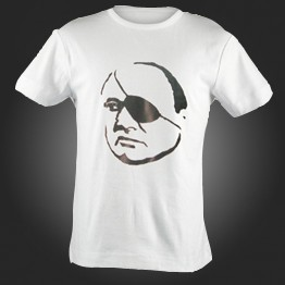 Moshe Dayan-Fourth General Chief of Staff T-shirt (T-251)