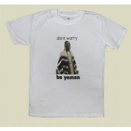 """Don't Worry, Be Yemen"" T-shirt (T-115)"